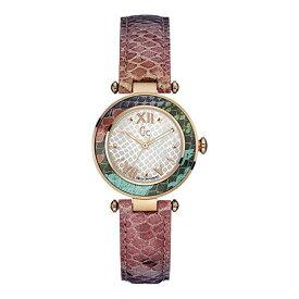 Y12005L1 GC ジーシー ゲスコレクション Floral Dream パイソン柄型押しレザー アナログ レディース 腕時計 国内正規品 送料無料
