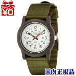 TW2P59800TIMEXタイメックス国内正規品JPNCamperカーキアイボリーメンズ腕時計