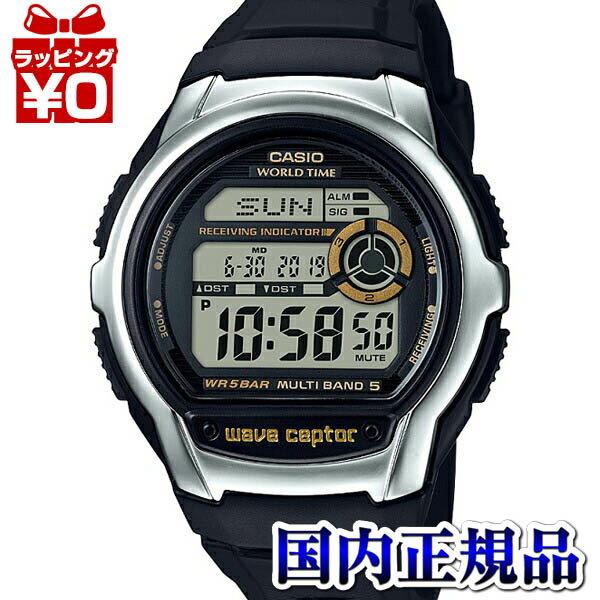 WV-M60-9AJF WAVE CEPTOR ウェーブセプター CASIO カシオ 電波時計 黒 ブラック メンズ 腕時計 国内正規品 プレゼント