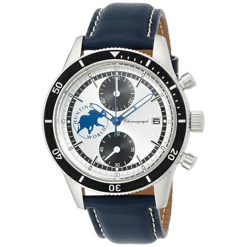 【ポイント10倍】HW024NV HUNTING WORLD ハンティングワールド グランドクロノ メンズ 腕時計 送料無料