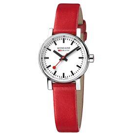 MSE.26110.LC MONDAINE モンディーン スイス 鉄道時計 エヴォ2 プチ 26mm レッド レディース 腕時計 国内正規品 送料無料