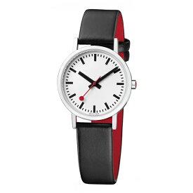 A658.30323.16OM MONDAINE モンディーン スイス 鉄道時計 クラシック ピュア 30mm レディース 腕時計 国内正規品 送料無料