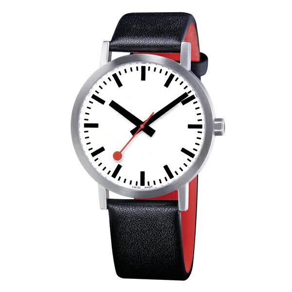 A660.30360.16OM MONDAINE モンディーン スイス 鉄道時計 クラシック ピュア 40mm メンズ 腕時計 国内正規品 送料無料