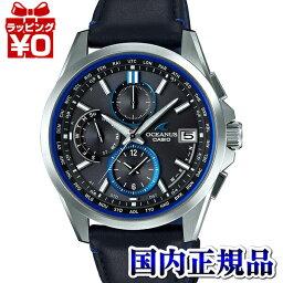 OCW-T2600L-1AJF OCEANUS oshianasu CASIO卡西歐ClassicLine皮kafumenzu手錶國內正規的物品