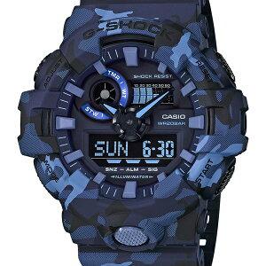 GA-700CM-2AJFG-SHOCKGショックジーショックカシオCASIOGA-700カモフラージュ迷彩ブルー青メンズ腕時計国内正規品送料無料