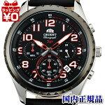 SKV01003B0EPSONエプソンORIENTオリエント海外逆輸入革バンド赤ステッチメンズ腕時計