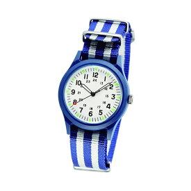 ALW-46374-2A2M ALPHA INDUSTRIES アルファインダストリーズ 青 白 ストライプ ベトナムウォッチ アナログ 36mm ユニセックス 男女兼用腕時計 国内正規品 送料無料