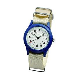 ALW-46374-2A2BE ALPHA INDUSTRIES アルファインダストリーズ ベージュ ブルー MA-1に合う 雑貨 小物 腕時計 時計 ベトナムウォッチ アナログ 36mm ユニセックス 男女兼用腕時計 国内正規品 送料無料