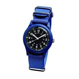 ALW-46374-2RB ALPHA INDUSTRIES アルファインダストリーズ 青 黒 ブルー ブラック 腕時計 時計 MA-1に合う 小物 雑貨 ファッション ベトナムウォッチ アナログ 36mm ユニセックス 男女兼用腕時計 国内正規品 送料無料