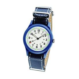 ALW-46374-2A2BW ALPHA INDUSTRIES アルファインダストリーズ ベトナムウォッチ 青 白 ブルー MA-1に合う 小物 ファッション 雑貨 腕時計 時計アナログ 36mm ユニセックス 男女兼用腕時計 国内正規品 送料無料