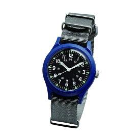 ALW-46374-2GR ALPHA INDUSTRIES アルファインダストリーズ ベトナムウォッチ MA-1に合う時計 アナログ 36mm ブルー 青 グレー ユニセックス 男女兼用腕時計 国内正規品 送料無料