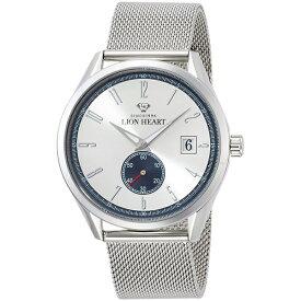 【エントリーでポイント11倍】LHW103SWH LION HEART ライオンハート シルバー文字盤 メンズ 腕時計 送料無料 ブランド