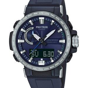 PRW-60-2AJFカシオプロトレックスポーツCASIOPROTREKSPORTS登山電波ソーラーネイビー紺メンズ腕時計国内正規品送料無料