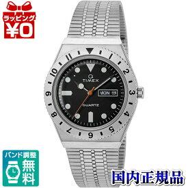 【クーポン利用で10%OFF】TW2V00100 TIMEX タイメックス 黒文字盤 ブラック シルバー メンズ 腕時計 国内正規品 送料無料