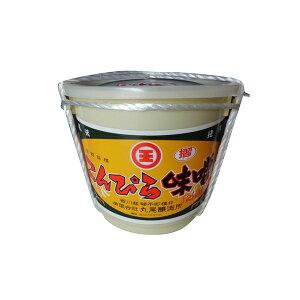 丸尾醸造所 こんぴら味噌 米みそ 赤 すりみそ 2kg 樽