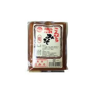 丸尾醸造所 こんぴら味噌 麦赤粒 赤 粒みそ 1kg 袋