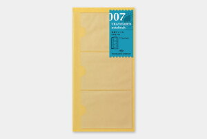 【トラベラーズノート】デザインフィル名刺ファイル 007007 Card File14301-006【レギュラーサイズ】
