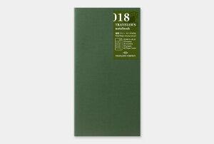 【トラベラーズノート】デザインフィル018 週間フリーバーチカル018 Free Diary<Weekly Vertical>14379-006【レギュラーサイズ】