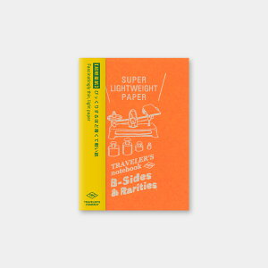 【薄くて軽い紙】トラベラーズノートパスポートサイズリフィル 超軽量紙14439-006リフィル【紙の質感も魅力】