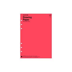 デザインフィル PLOTTER システム手帳 A5サイズ リフィル Drawing Paper No007メモパッド ドローイングペーパー 30枚