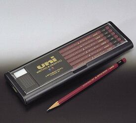 【金箔押しお名入れ無料】三菱鉛筆鉛筆ユニ(uni)六角【ネコポス発送できます】