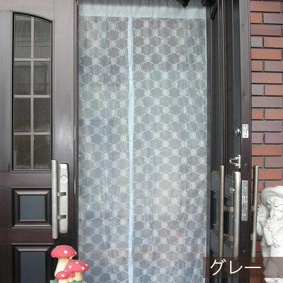 玄関カーテンのれんタイプ