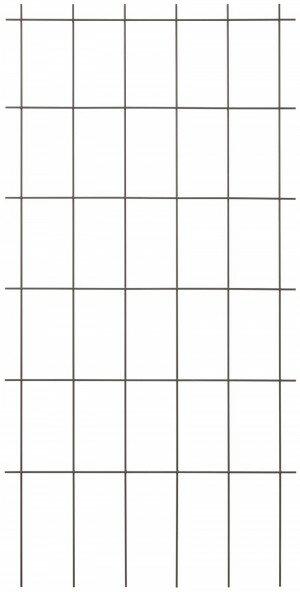 【送料無料】【タカショー】 クライミングスクエアトレリスブラウン GSTR-RC04BS 4枚セット フェンス 目隠し トレリス アイアン 花壇 針金 スチール バラ ガーデニング