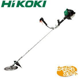 【送料無料】【HiKOKI】 エンジン刈払機 CG27ECP(S) 刈払機 草刈機 草刈り機 本体 エンジン式 エンジン 日立工機