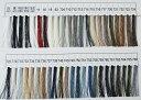 ☆フジックス キングポリエステル地縫い糸 300m色見本1  白〜761