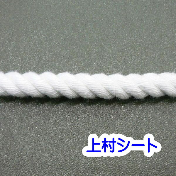 カット販売 クレモナロープ クレモナSロープ 直径16mm 避難ロープ 防災ロープ 親綱ロープ