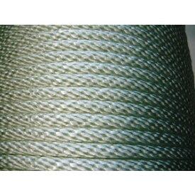 ナイロン金剛打ちロープ 組みひも 組紐 直径6mm x 長さ300m