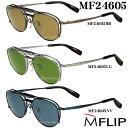MFLIP エムフリップ MF24605マグネット式偏光ハネアゲ付きメガネ度付き薄型レンズ付きセットシャルマン Charmant MF24605
