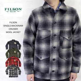 FILSON フィルソン SINGLE MACKINAW CRUISER WOOL JACKET シングルマッキーノ ウールクルーザージャケット