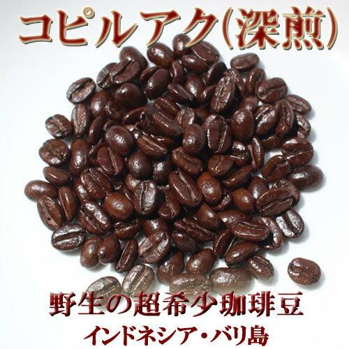 【野生】【売れ筋】【オススメ】100g コピルアク ジャコウネココーヒー コピルアック【深煎】