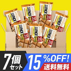 15%OFF送料無料プロテインバーUHA味覚糖SIXPACKシックスパックチョコレート味7個セット低糖質
