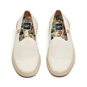 【送料無料】Marbella II Creamy-White-UIN アートシューズ レディースナチュラルジュートローファー ファッションスニーカ メンズデッキシューズ 衝撃吸収旅靴 軽い カップル靴 プレゼント 人気