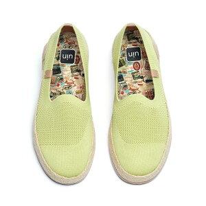 【送料無料】Marbella II Light Green-UIN アートシューズ レディースナチュラルジュートローファー ファッションスニーカ メンズデッキシューズ 衝撃吸収旅靴 軽い カップル靴 プレゼント 人気