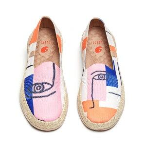 【送料無料】Marbella II Look at Me -UIN アートシューズ レディースナチュラルジュートローファー ファッションスニーカ メンズデッキシューズ 衝撃吸収旅靴 軽い カップル靴 プレゼント 人気