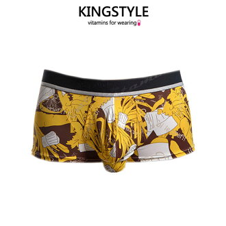 附帶網口袋的雄壯褲子:褲衩(下降趨勢)FN-D4823-Y