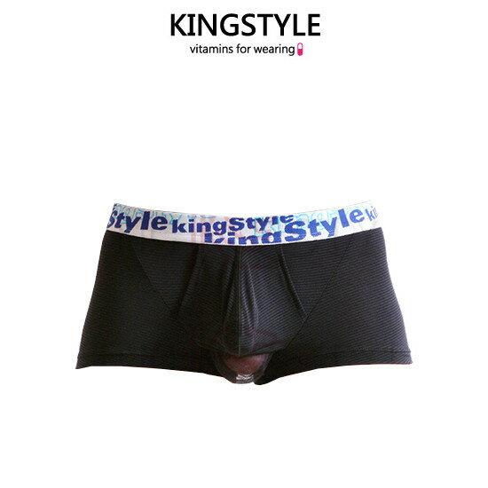 【King Style(キングスタイル)】網ポケット付 壮快パンツ:トランクス(下向き)FN-D4834 全2色(ブラック・ピンク)