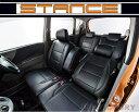 【即納!防水 難燃!】 ★STANCE シートカバー★ ジムニー JB23W 1型・2型 (ブラック・スタンダード・S9911B) C…