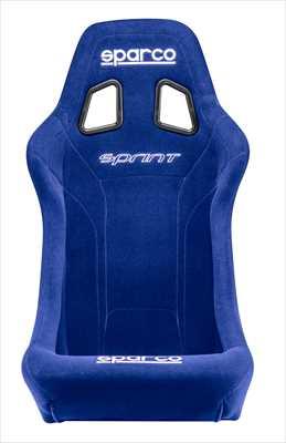【即納!FIA公認モデル】sparco(スパルコ) フルバケットシート SPRINT (スプリント)ブルー/BL