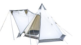 UJack(ユージャック) テント ワンポールテント Desert300 1〜4人用 コットンインナー