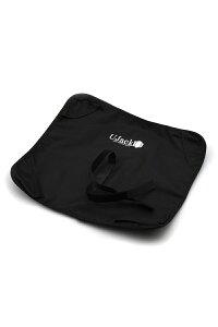 UJack(ユージャック) アウトドア スピンチェア用 グランドシート コンパクト キャンプ 椅子 ブラック