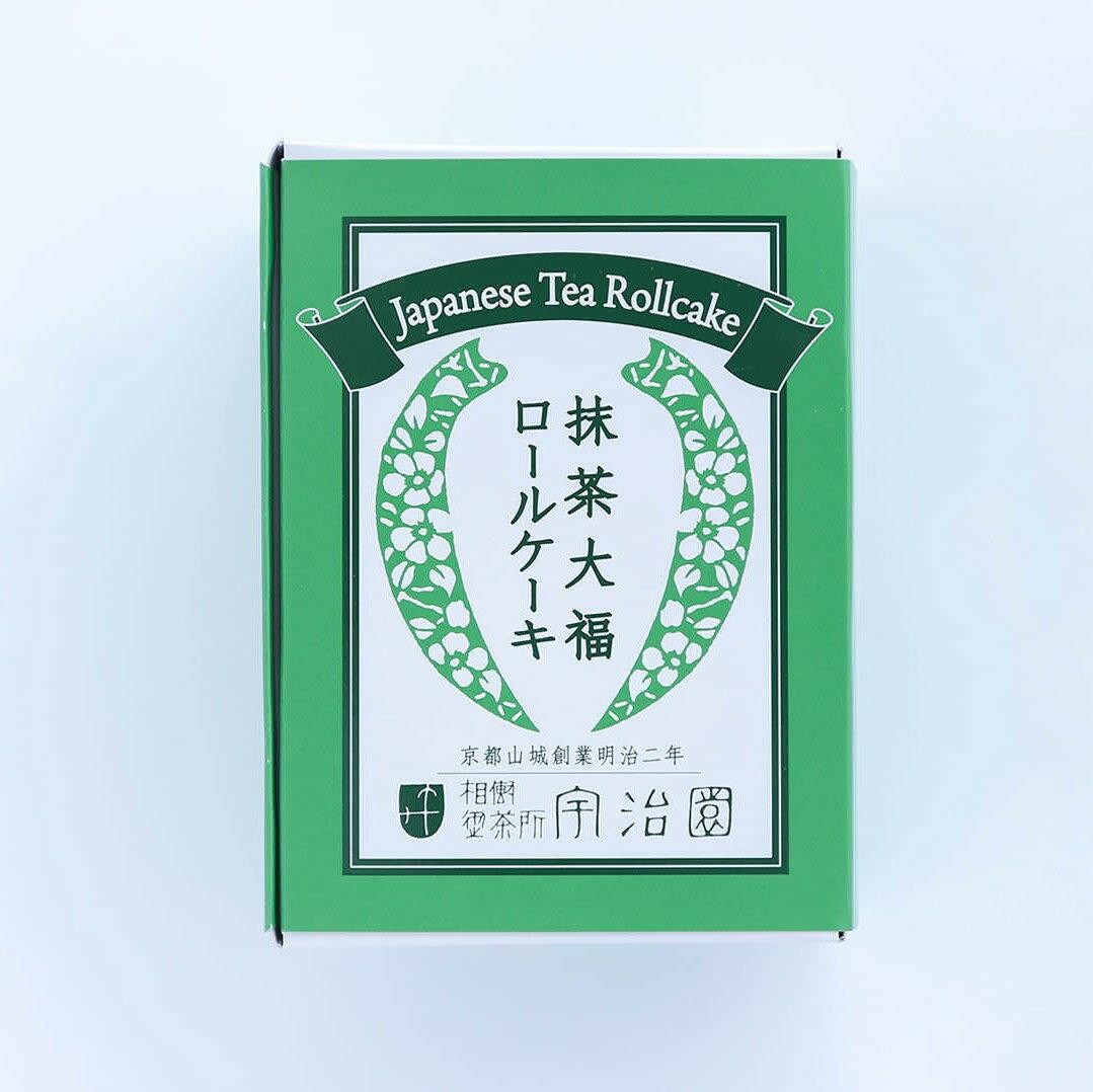 抹茶大福ロールケーキ