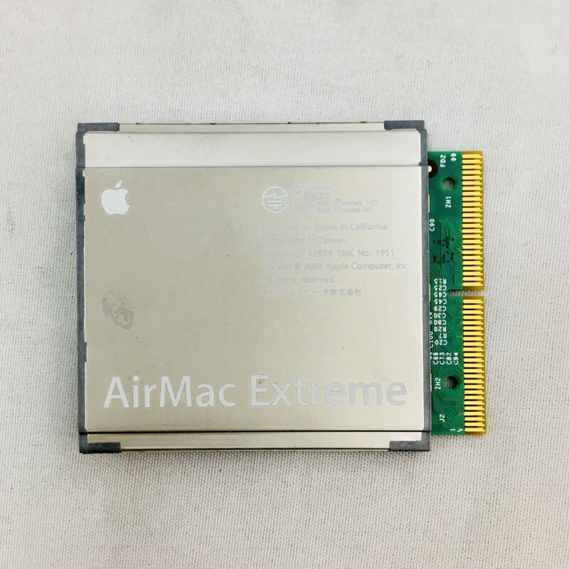 【中古】[ Apple ] AirMac Extreme Card / M8881J/A / A1029