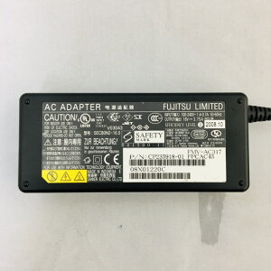 【中古】[Fujitsu]富士通ACアダプター/16V3.75A/ACアダプター/中ピン/UJ88/SEC80N2-16.0/
