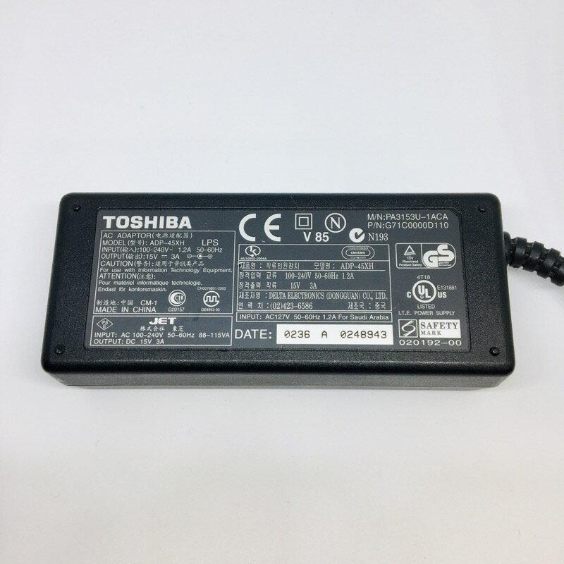 【中古】[ TOSHIBA ] ACアダプタ / PA3153U-1ACA / 15V / 3A / 電源 adapter /