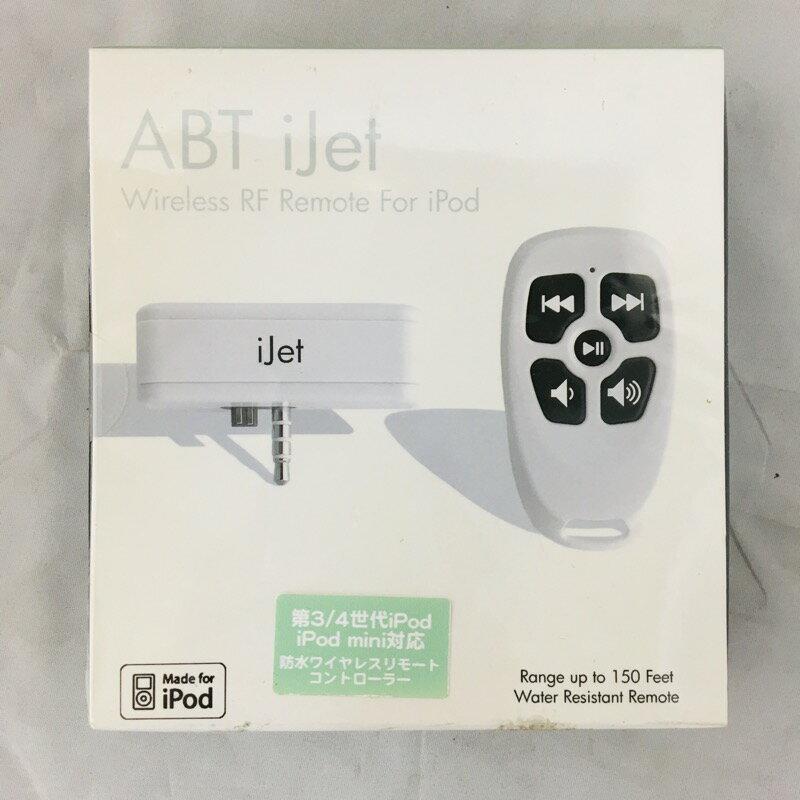 【中古】[ ABT ] iJet iPod用 防水ワイヤレス リモートコントローラー iPod初期の第3世代、第四世代ipod用