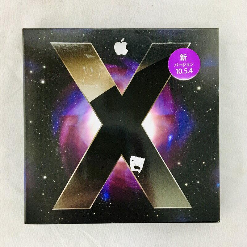 【中古】[ Apple ] Mac OSX 10.5.4 Leopard